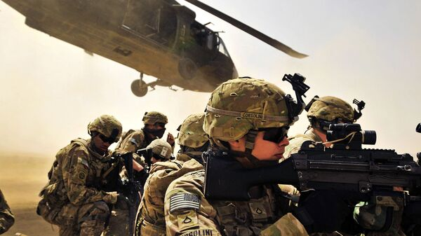 Военнослужащие армии США в провинции Кандагар, Афганистан - Sputnik Таджикистан