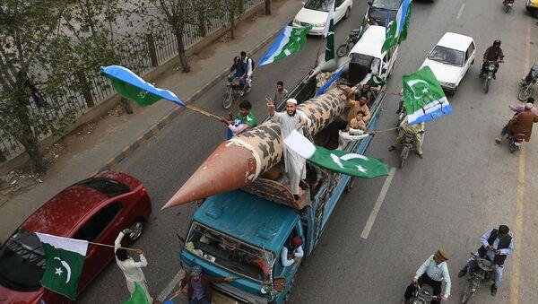 Антииндийская акция протеста в Карачи - Sputnik Таджикистан