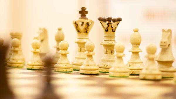 28 февраля, в центре РОО Нур прошёл III-й межнациональный шахматный турнир Кубок НУР - Sputnik Таджикистан