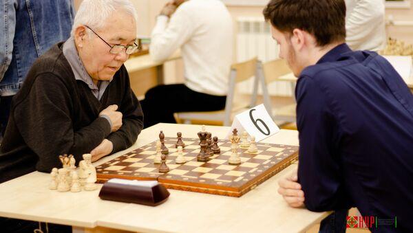 Шахматный турнир, архивное фото - Sputnik Таджикистан
