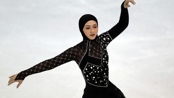 Фигуристка Захра Лари - Sputnik Таджикистан