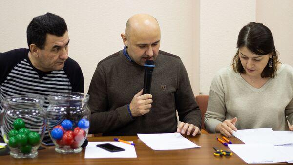 Жеребьевка спортфеста - Sputnik Таджикистан