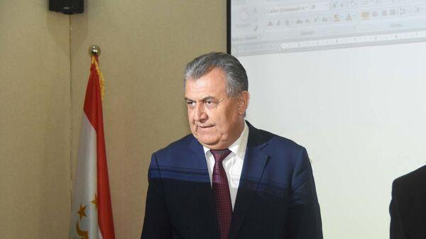 Министр образования Таджикистан Нуриддин Саидов, архивное фото - Sputnik Таджикистан