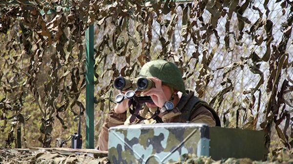 Учения мотострелков, архивное фото - Sputnik Таджикистан