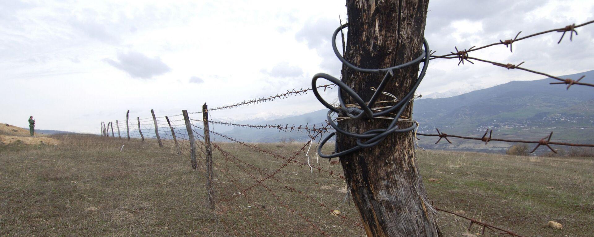 Граница, архивное фото - Sputnik Таджикистан, 1920, 04.06.2021