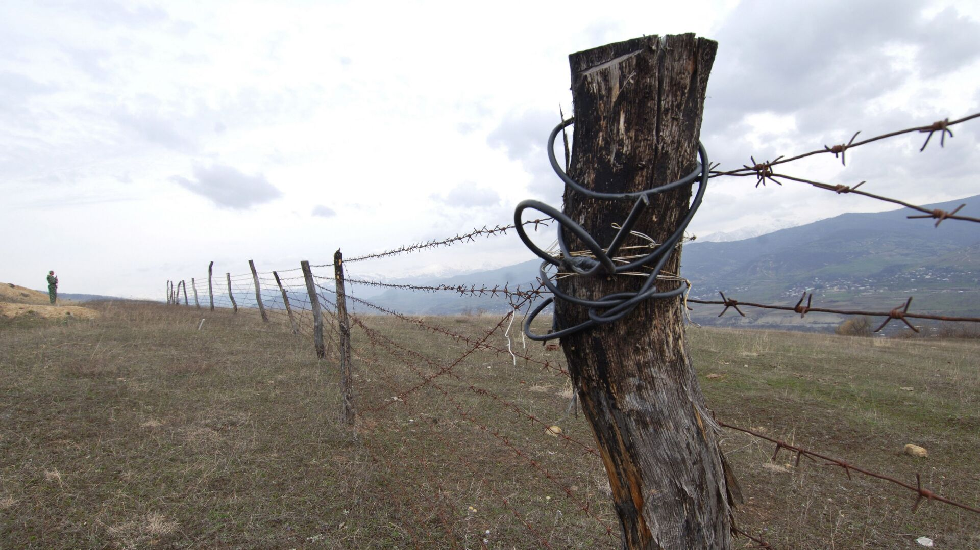 Граница, архивное фото - Sputnik Таджикистан, 1920, 03.05.2021