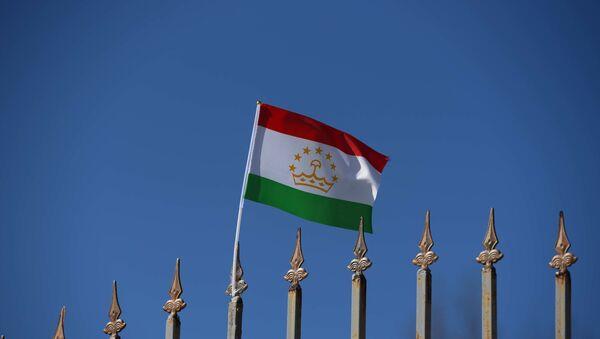 Флаг Таджикистана, архивное фото - Sputnik Таджикистан