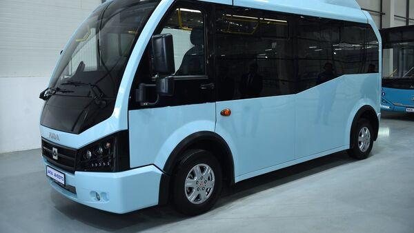 Автобусы которые будут производить на новом заводе AKIA AVESTA - Sputnik Тоҷикистон