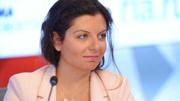 Главный редактор Международного информационного агентства Россия сегодня Маргарита Симоньян - Sputnik Таджикистан