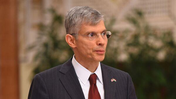 Новый Посол США Джон Марк Поммершайм - Sputnik Тоҷикистон