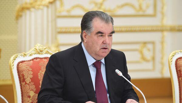 Президента Таджикистана Эмомали Рахмон - Sputnik Таджикистан