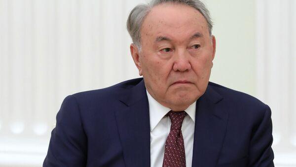 Президент Казахстана Нурсултан Назарбаев - Sputnik Таджикистан