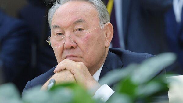 Президент Республики Казахстан Нурсултан Назарбаев - Sputnik Таджикистан