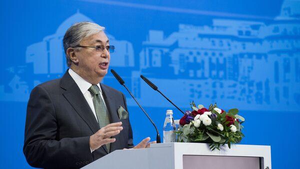 Председатель сната парламента Казахстана Касым-Жомарт Токаев - Sputnik Таджикистан
