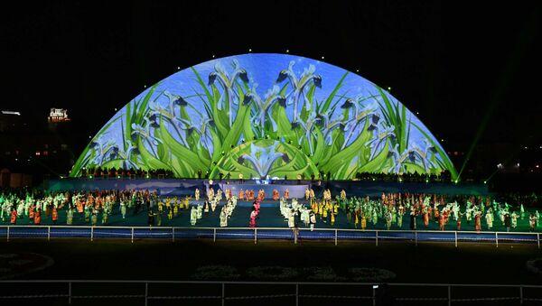 Концерт, посвященный празднику Навруз в Душанбе - видео - Sputnik Тоҷикистон