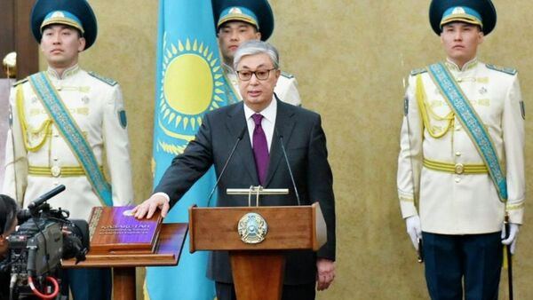Касым-Жомарт Токаев принес присягу на посту президента Казахстана - Sputnik Тоҷикистон
