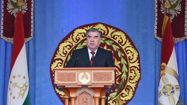 Выступление Эмомали Рахмона - Sputnik Таджикистан
