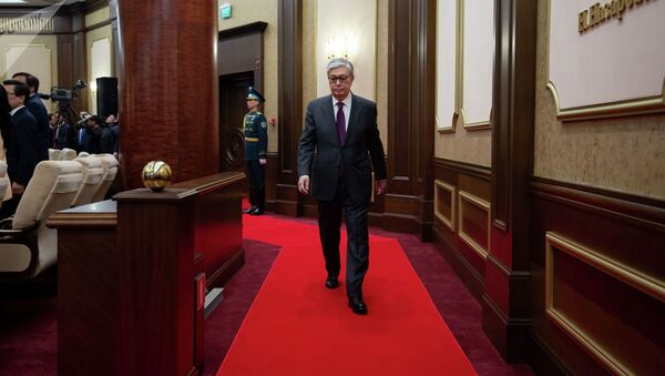 Глава Казахстана Касым-Жомарт Токаев. - Sputnik Таджикистан