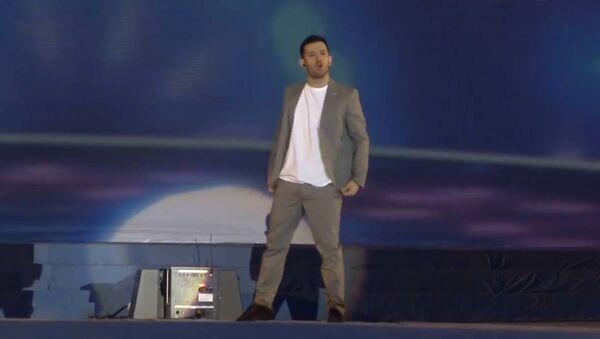 Даниэль Рустамов выступил на концерте на Навруз в Наврузгохе в Душанбе - Sputnik Таджикистан