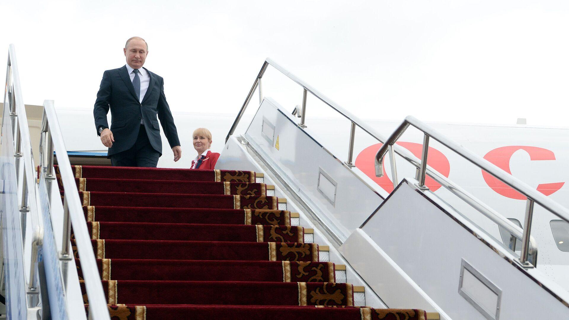 Президент России Владимир Путин - Sputnik Таджикистан, 1920, 13.09.2021