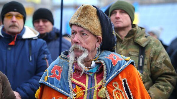 Акции в Киеве с требованием честных выборов - Sputnik Таджикистан
