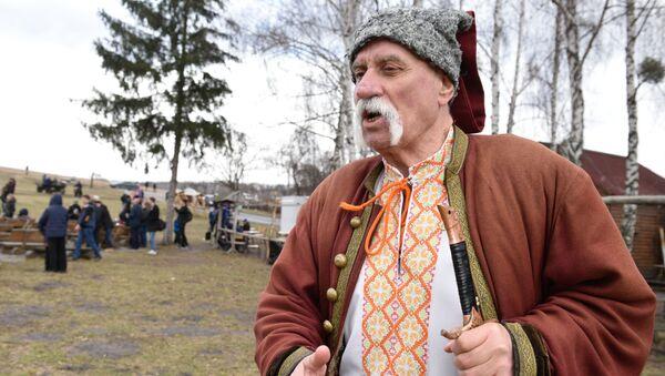 Празднование Масленицы на Украине - Sputnik Таджикистан