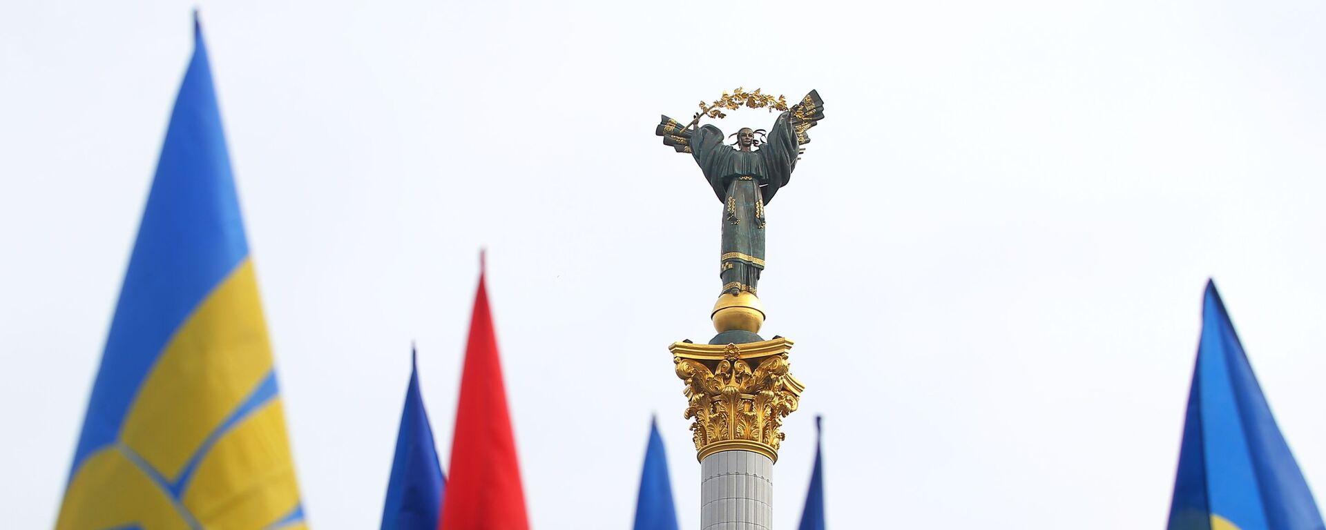 Акции в Киеве с требованием честных выборов - Sputnik Таджикистан, 1920, 23.04.2021