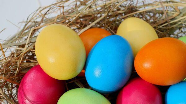 Пасхальные яйца, архивное фото  - Sputnik Таджикистан