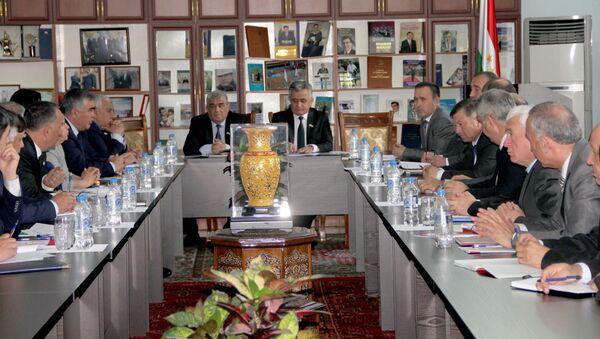 Заседание нижней палаты Таджикистана - Sputnik Тоҷикистон