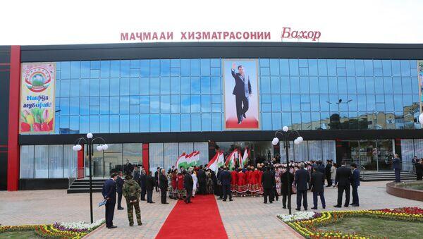 Открытие Дворца молодежи в Худжанде - Sputnik Таджикистан