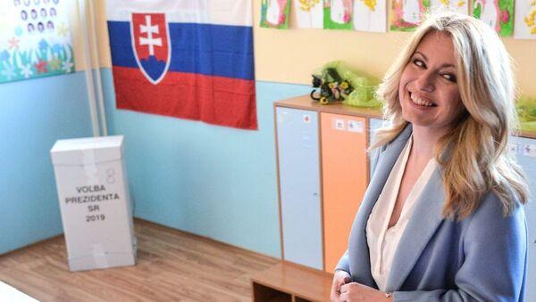 Зузана Чапутова-президенти Словакия - Sputnik Тоҷикистон