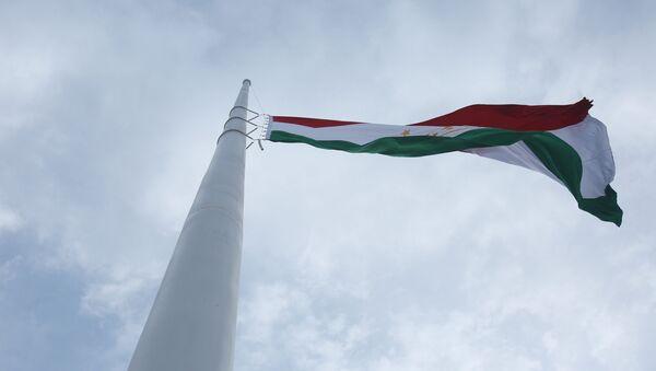 Государственный флаг Таджикистана - Sputnik Тоҷикистон