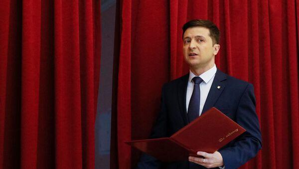 Актер и и кандидат в президенты Украины Владимир Зеленский - Sputnik Таджикистан