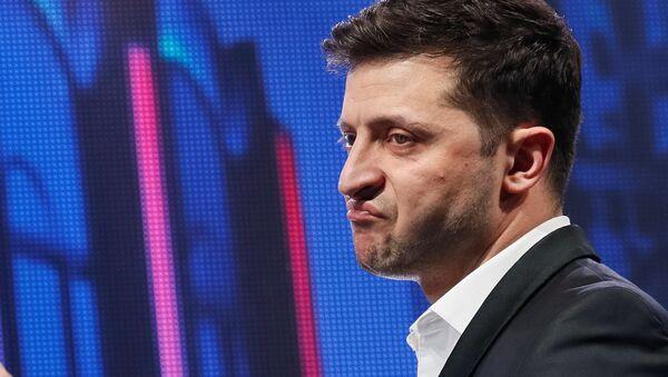 Кандидат в президенты Украины, актер Владимир Зеленский - Sputnik Таджикистан