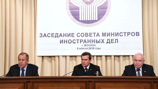 Заседание Совета министров иностранных дел СНГ - Sputnik Таджикистан