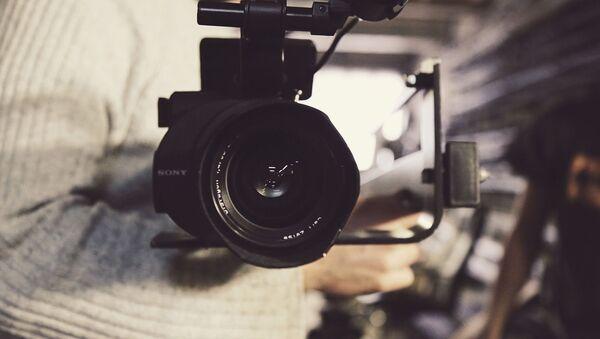 Видеокамера, архивное фото - Sputnik Таджикистан