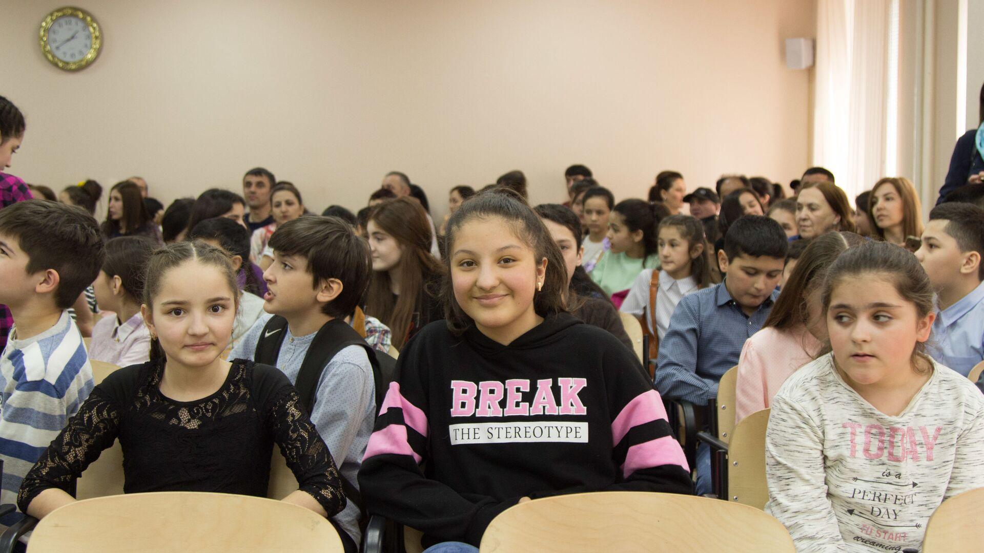 Культурный центр НУР провел школьную олимпиаду для школьников-таджиков - Sputnik Таджикистан, 1920, 30.03.2021