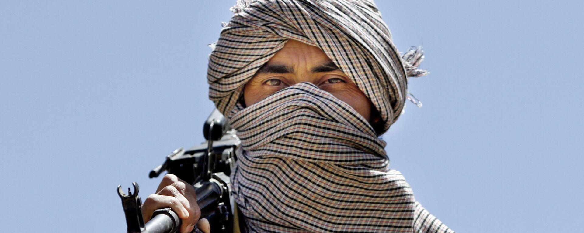 Член террористической организации Талибан в Афганистане - Sputnik Таджикистан, 1920, 23.06.2021