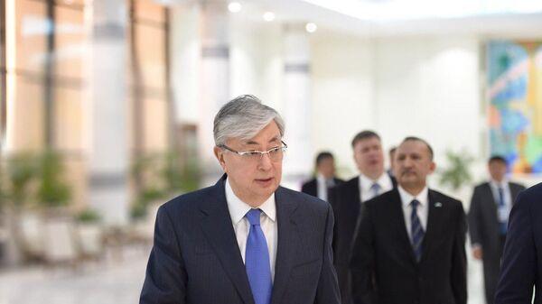 Президент Республики Казахстан Касым-Жомарт Токаев прибыл в Узбекистан с государственным визитом - Sputnik Тоҷикистон
