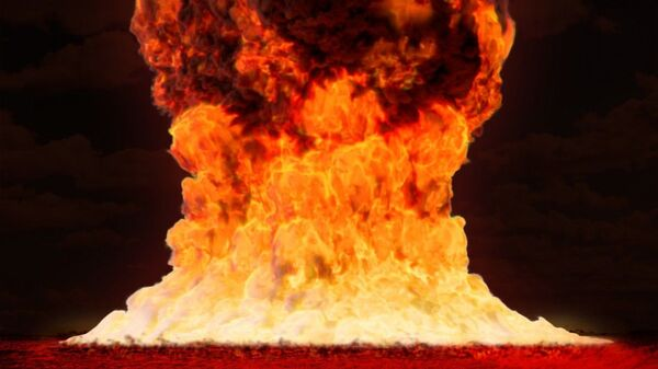Ядерный взрыв, архивное фото - Sputnik Таджикистан