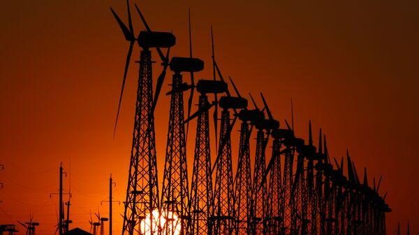 Ветрогенераторы, архивное фото - Sputnik Таджикистан