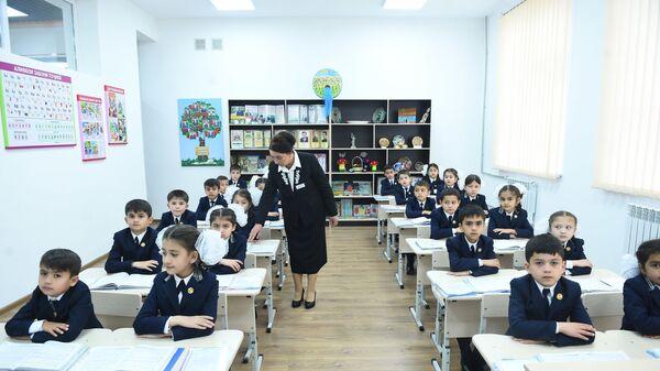 Новая школа в Душанбе - Sputnik Таджикистан