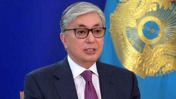 Президент Республики Казахстан Касым-Жомарт Токаев  - Sputnik Таджикистан