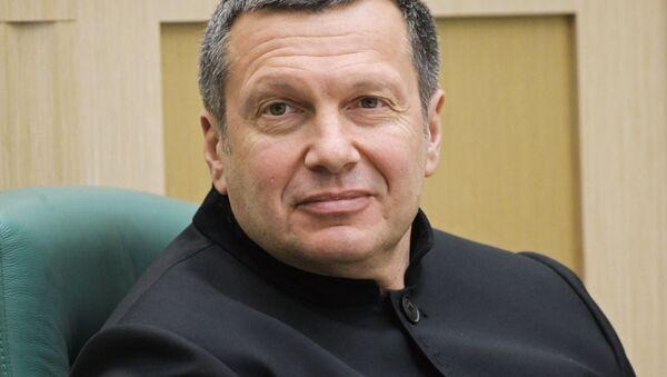 Журналист, теле- и радиоведущий Владимир Соловьев - Sputnik Тоҷикистон