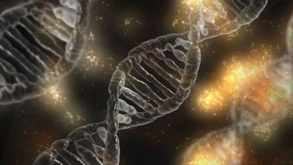 Иллюстрация молекулы ДНК - Sputnik Таджикистан