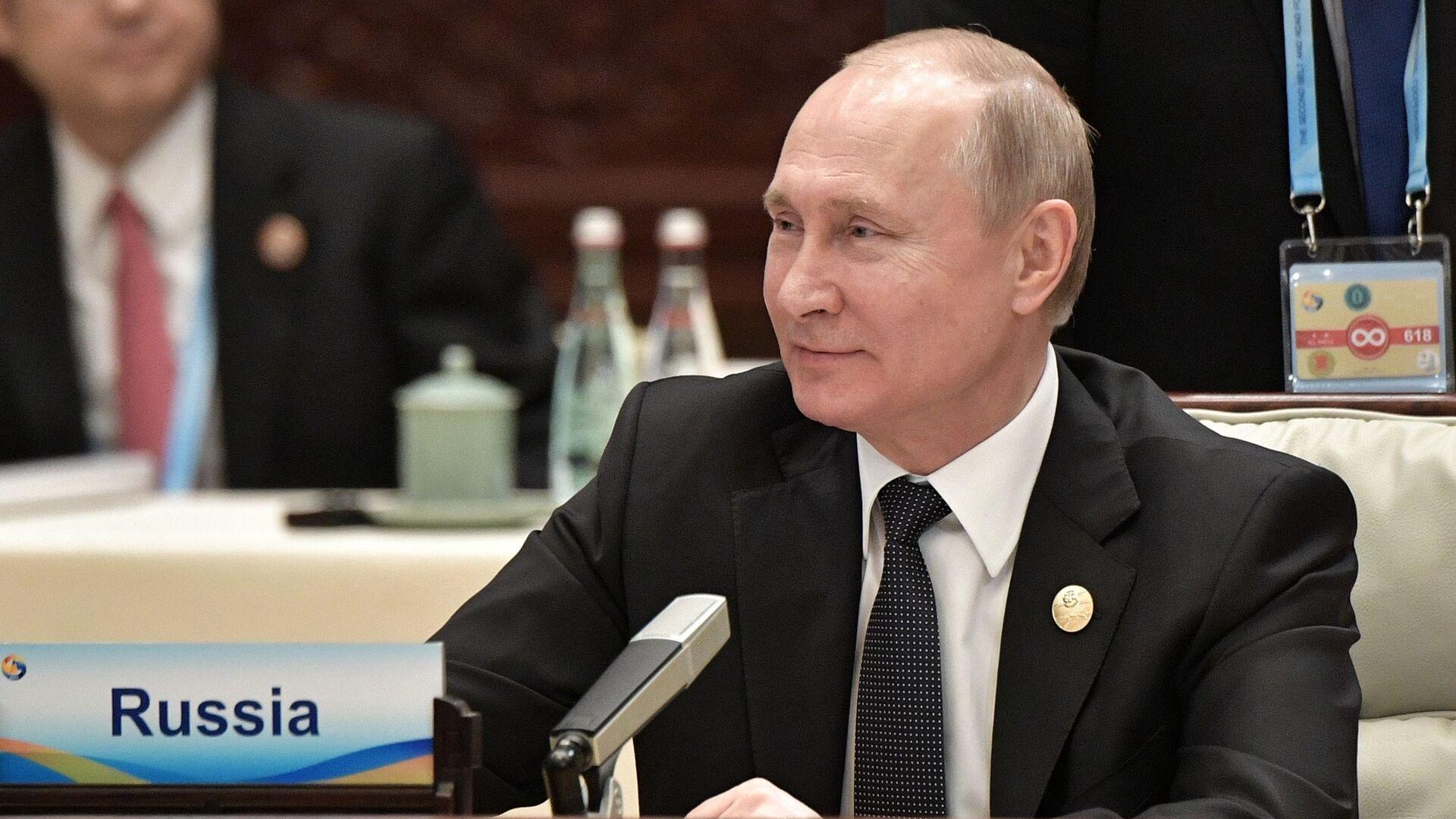 Президент России Владимир Путин - Sputnik Таджикистан, 1920, 22.09.2021