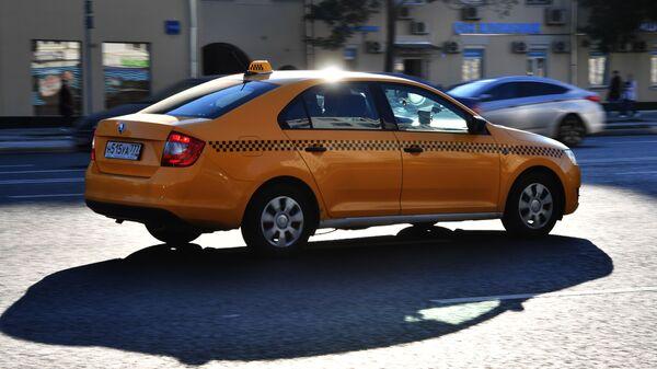 Такси, архивное фото - Sputnik Таджикистан