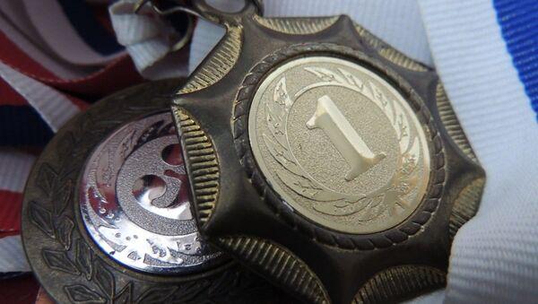 Медаль, архивное фото - Sputnik Таджикистан