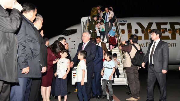 В Таджикистан из Ирака вернули 64 ребенка - Sputnik Тоҷикистон