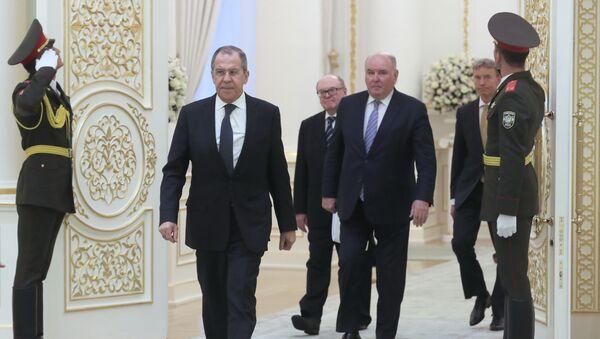 Визит главы МИД РФ Сергей Лаврова в Узбекистан - Sputnik Таджикистан
